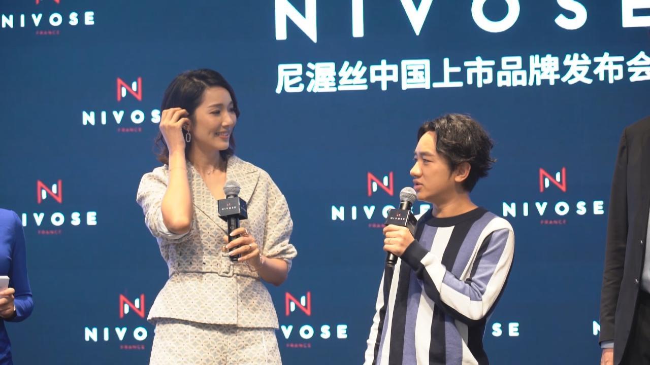 (國語)夫妻檔上海出席活動 王祖藍李亞男大談育兒經