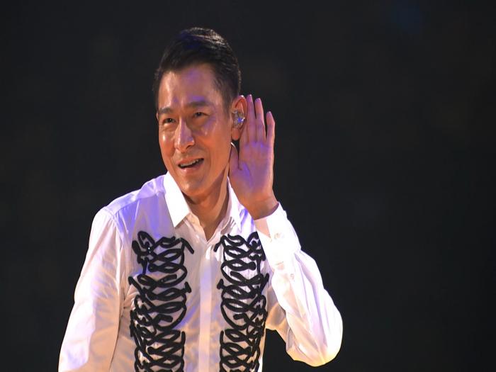 劉德華大馬演唱會與歌迷慶中秋