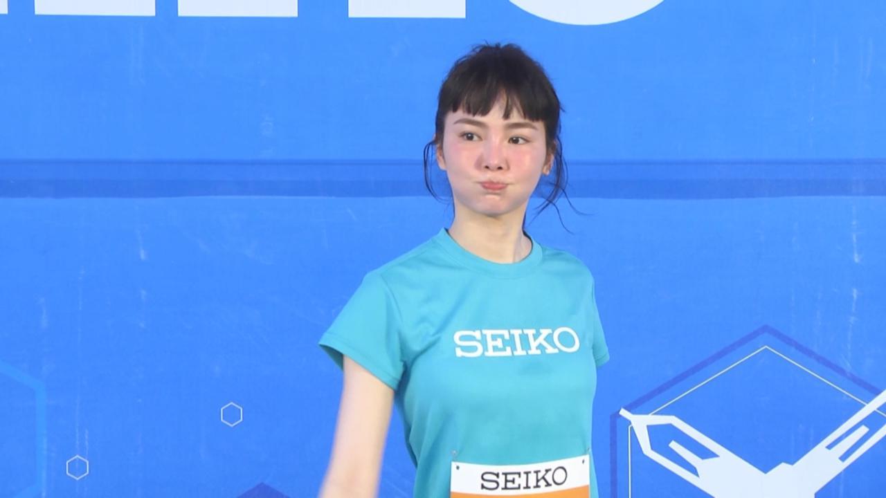 舒子晨首次參加路跑活動 賽事途中發掘台北美景