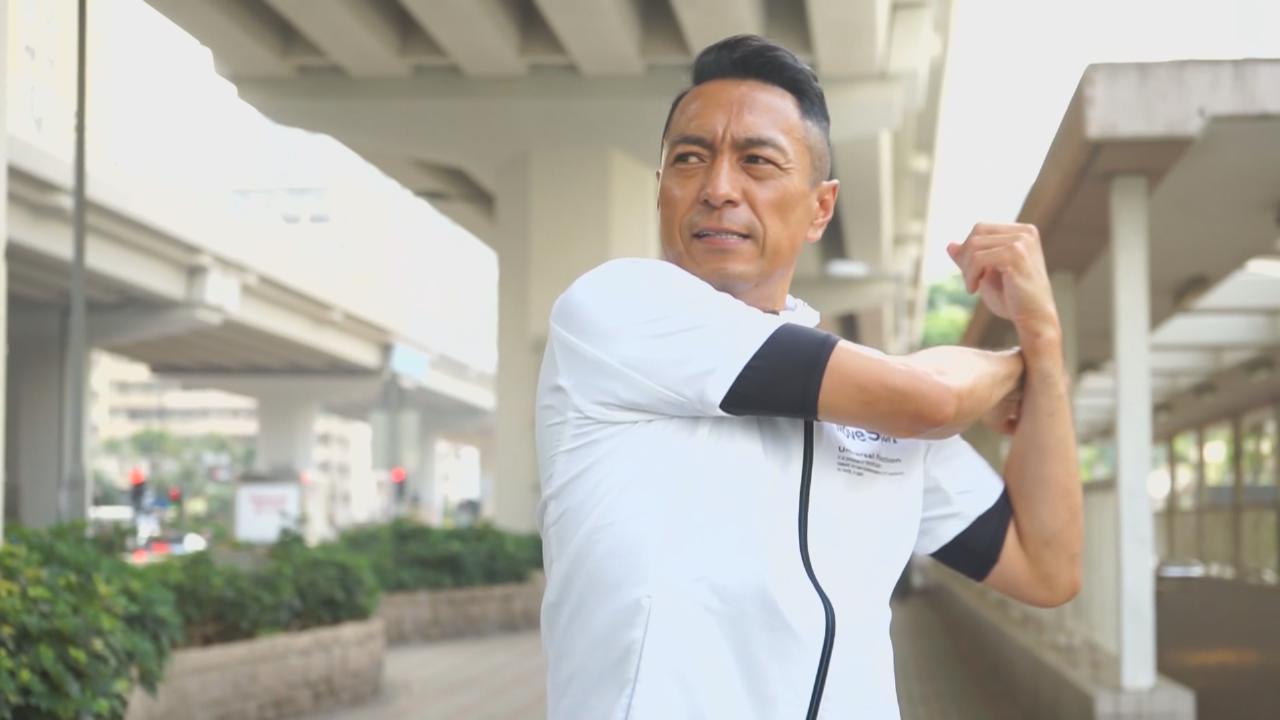 姜皓文擔任維港泳大使 盼向大眾傳遞正能量