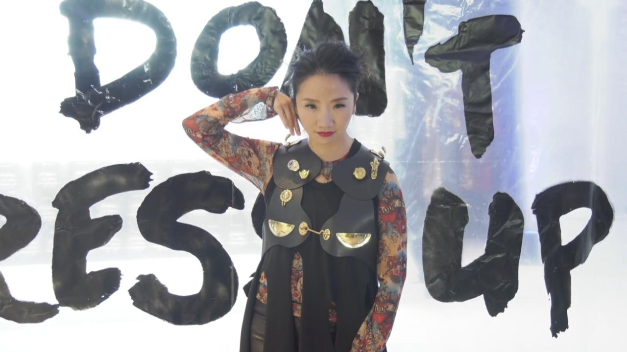 (國語)陶晶瑩有型打扮出席活動 榮幸獲邀任獻唱嘉賓
