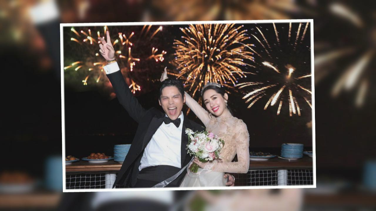 社交平台公告喜訊 向佐郭碧婷意大利成婚