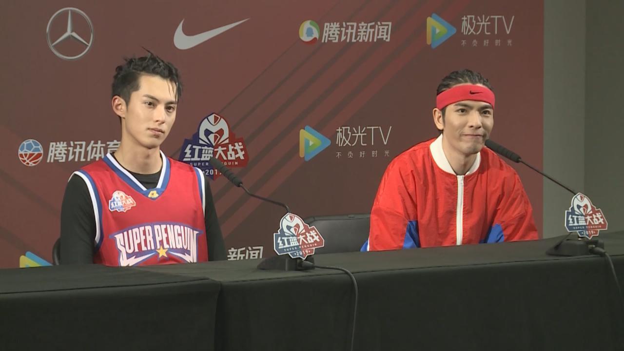 (國語)蕭敬騰參加明星籃球賽 大讚隊友有默契