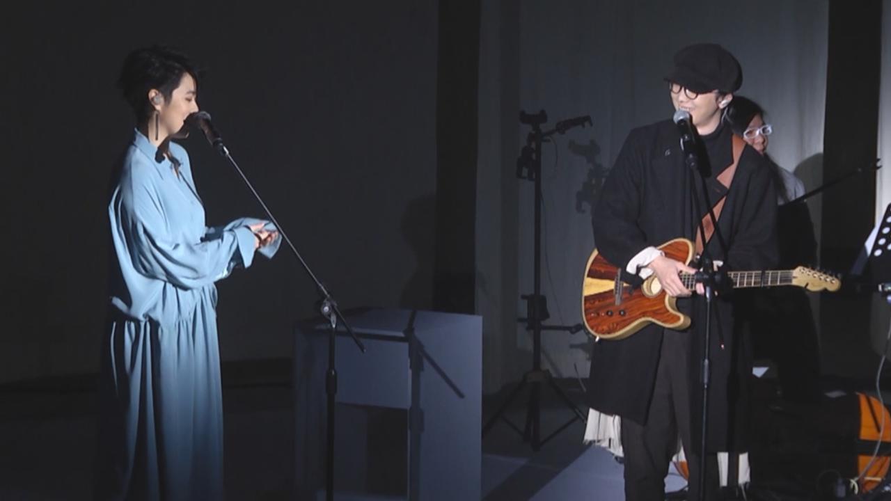 岑寧兒演唱會台灣尾站 開場連唱三首輕調歌曲