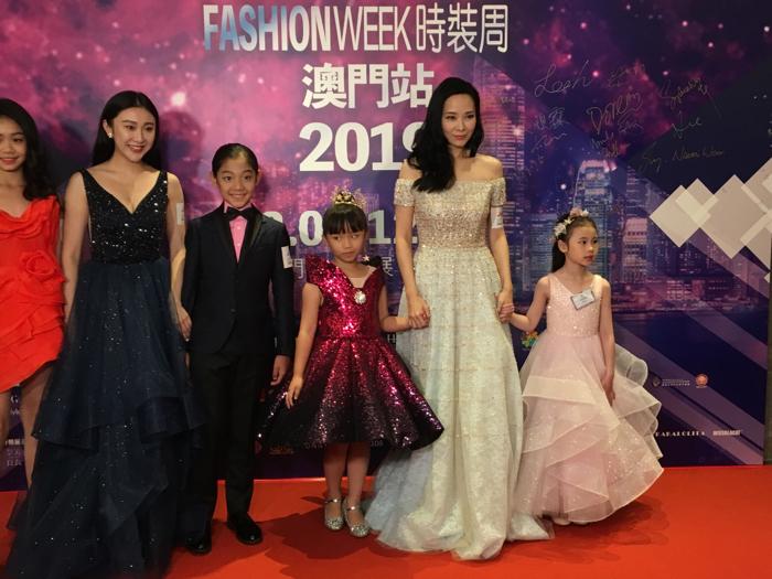 星級大使郭羨妮出席兒童時裝周