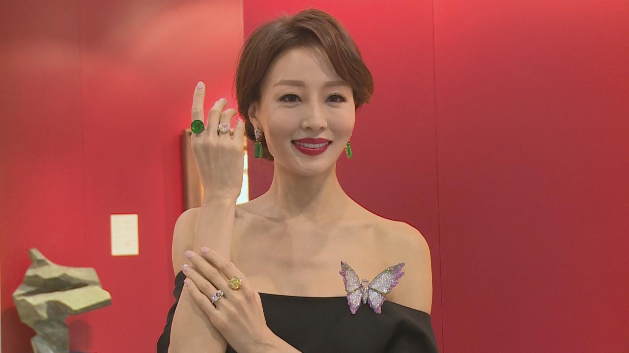 陳嘉容享受展示珠寶珍藏 喜見服裝品牌德國受歡迎