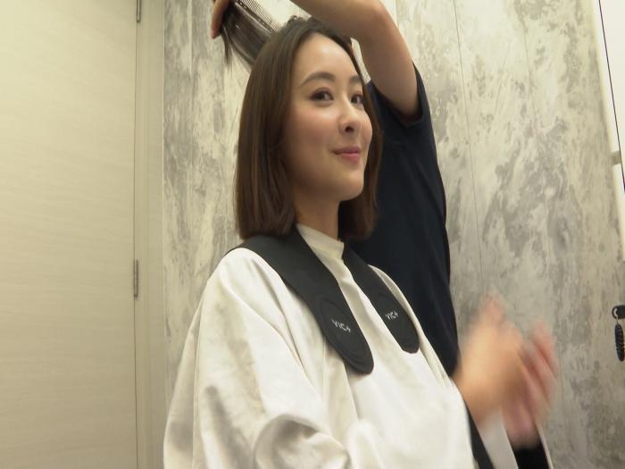 陳瀅為拍劇 剪短留了20多年長髮 專業兼行善