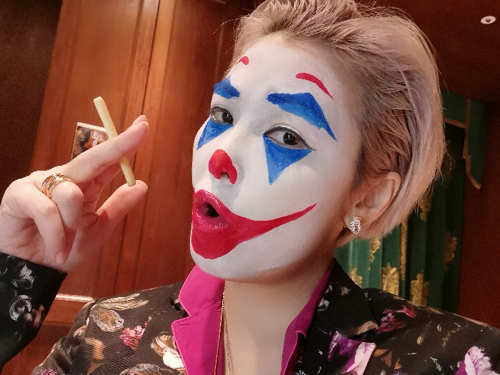 姚安娜小丑 Halloween 之夜直播