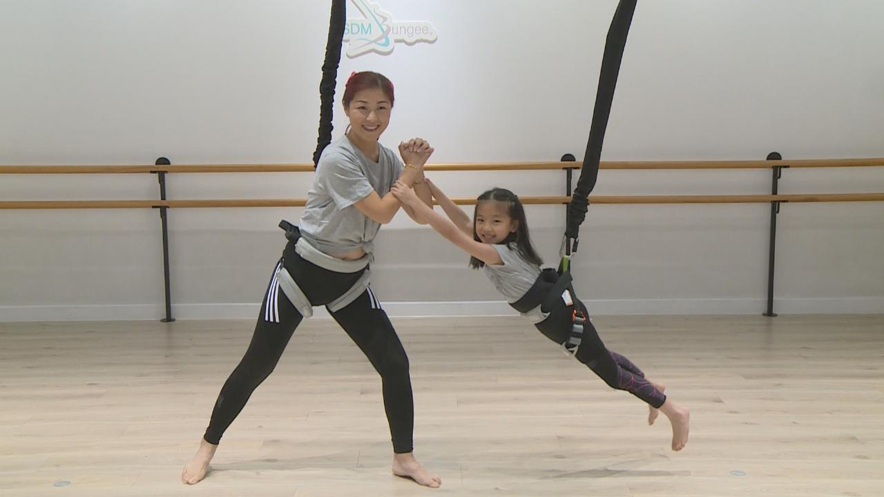 陳琪帶囡囡參與跳舞活動 勾起昔日表演經歷