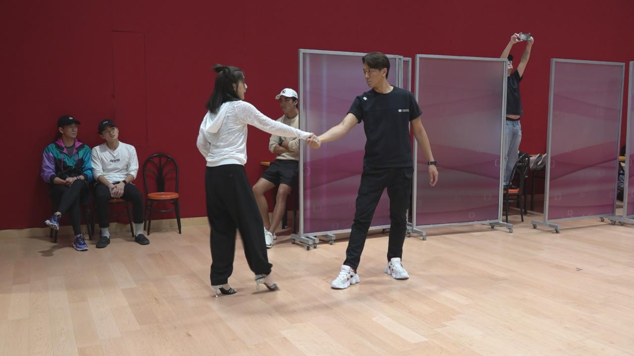 與諾懿為大型舞蹈綵排 智雯回憶訓練班時代