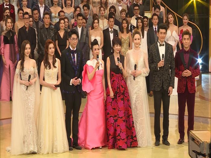 《珍惜香港 發放娛樂  TVB52年》全台藝員靚人靚衫迎台慶