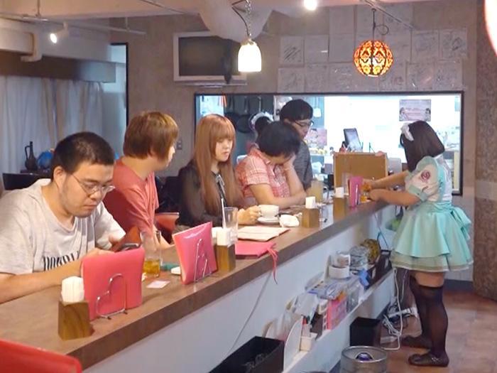 森美旅行團 可愛胖胖女僕Cafe