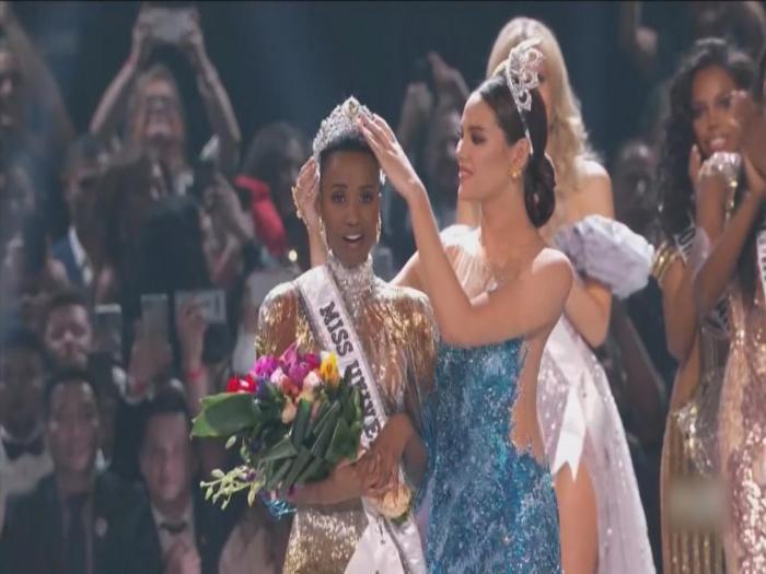 2019環球小姐誕生 南非小姐奪冠