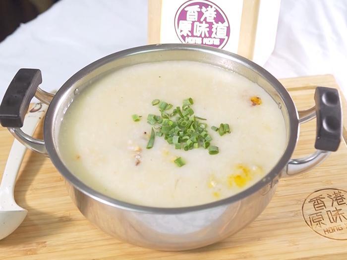 香港原味道 人情味足料雞粥