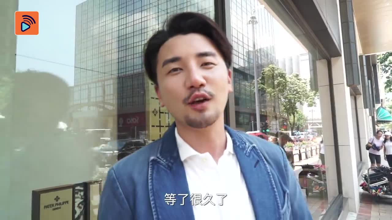 花絮 洪永城第一日開工 全新形象超靚仔