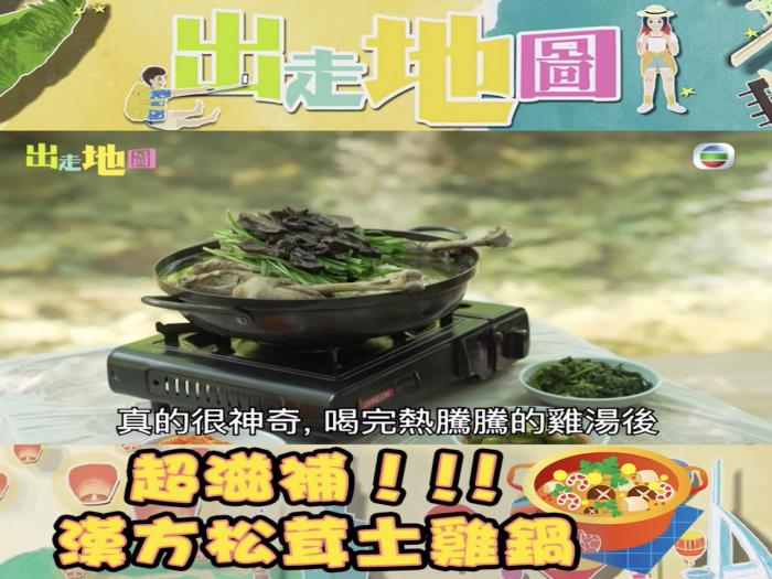 超滋補!漢方松茸土雞鍋