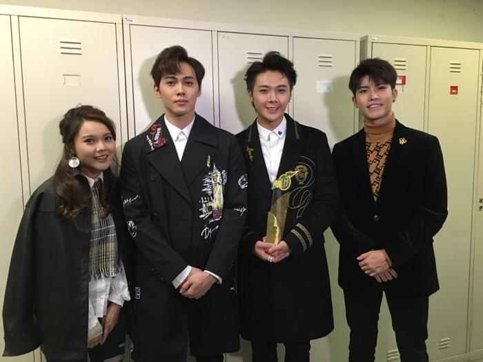BOP天堂鳥@勁歌金曲頒獎典禮後台直擊(最佳舞台演繹組合金獎)