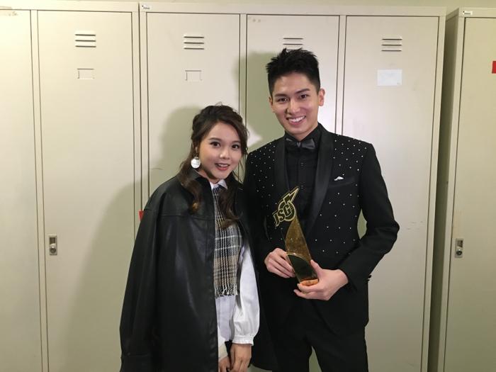劉子碩@勁歌金曲頒獎典禮後台直擊(最受歡迎新人獎)