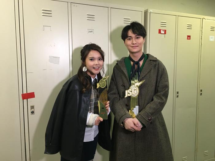 胡鴻鈞@勁歌金曲頒獎典禮後台直擊(最佳演繹男歌星)