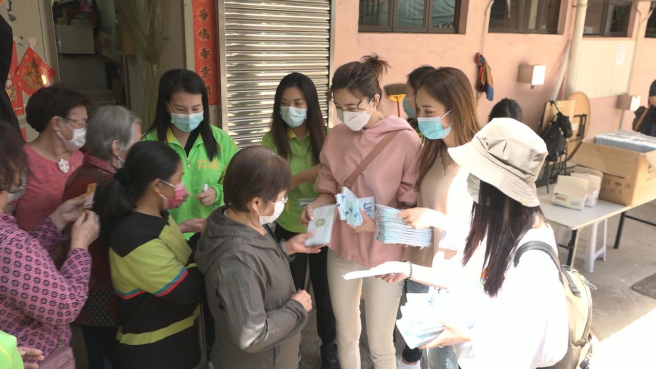 吳若希感激有心人捐防疫物資 呼籲大眾分享物資齊心抗疫
