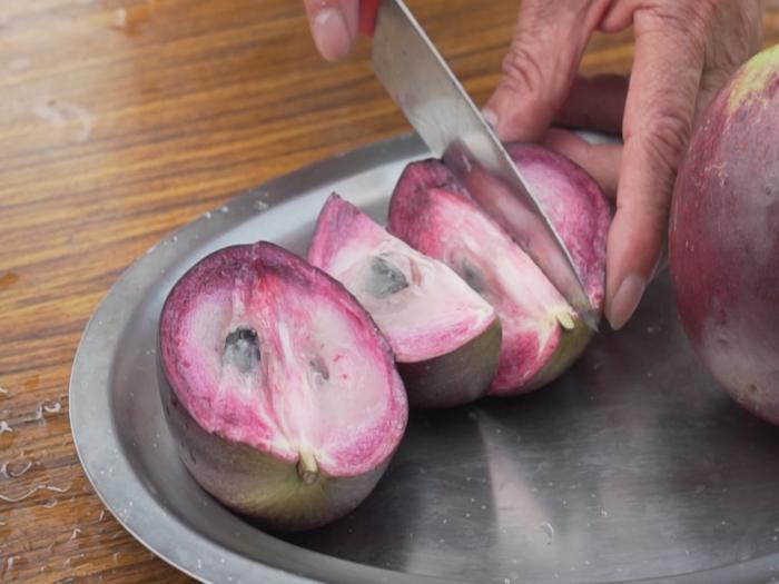 紫鑽牛奶果超清甜營養豐富 台東限季特產產量稀少big big shop幫你買一個少一個