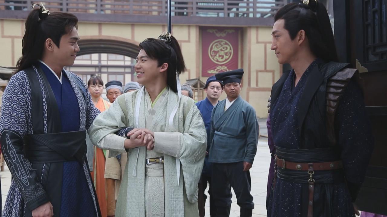 郭麒麟與張若昀演兄弟 發揮笑匠本色大放笑彈