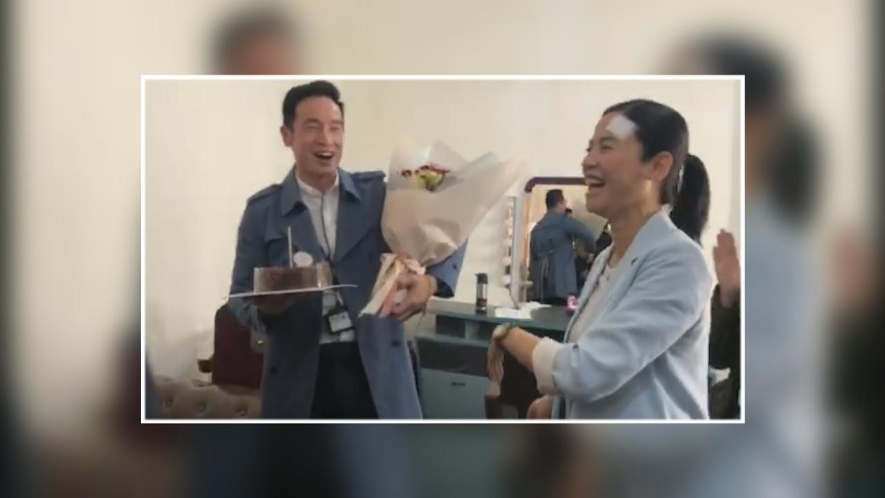 (國語)劇組送上生日驚喜 陳豪喜獲兒女自製蛋糕