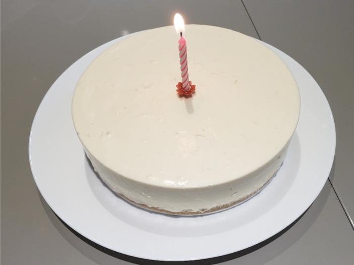 【豆腐芝士蛋糕】給父親的驚喜!哥哥妹妹DIY 大成功!