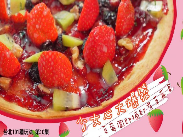 少女心大爆發 草莓園即摘即煮草莓宴