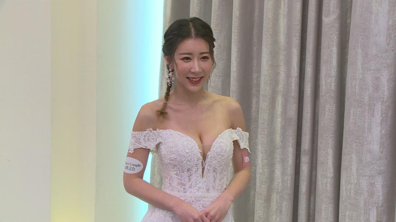 (國語)陳婉衡對穿婚紗情有獨鍾 笑言男友驚呼走秀婚紗太性感