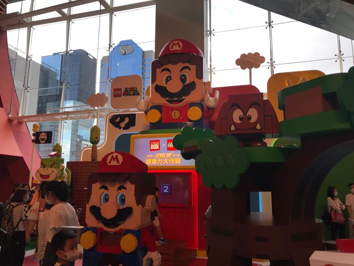 MegaBox x LEGO Level Up 想像力大作戰