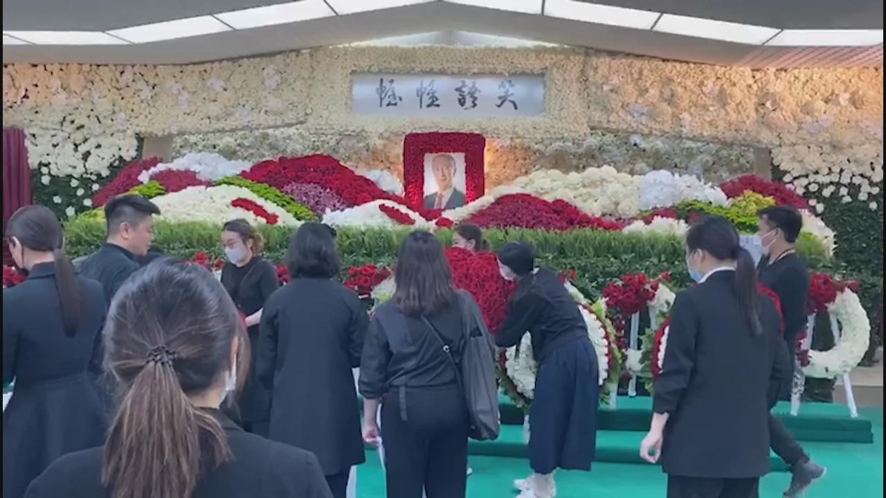 何鴻燊喪禮第二日舉行公祭 政商演藝界人士出席弔唁