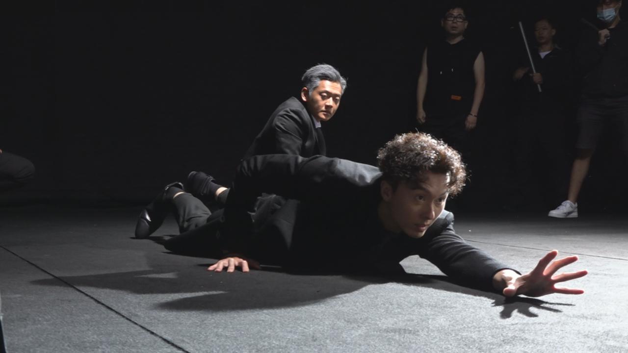 (國語)拍攝反黑路人甲宣傳片 王浩信盼新劇獲佳績