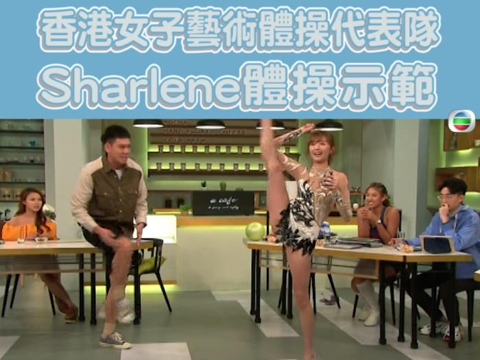 盈盈6號跟Sharlene玩波波!?