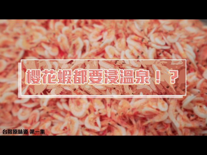 櫻花蝦都要浸溫泉!?