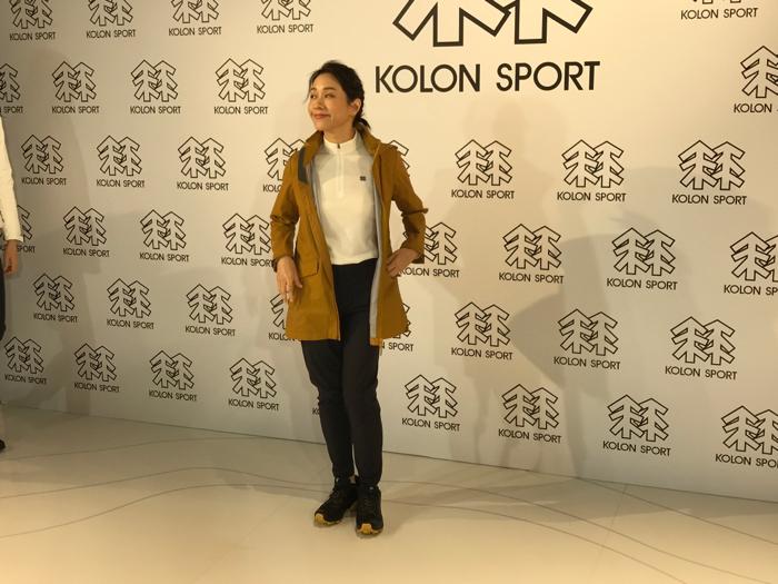林嘉欣出席服裝店活動