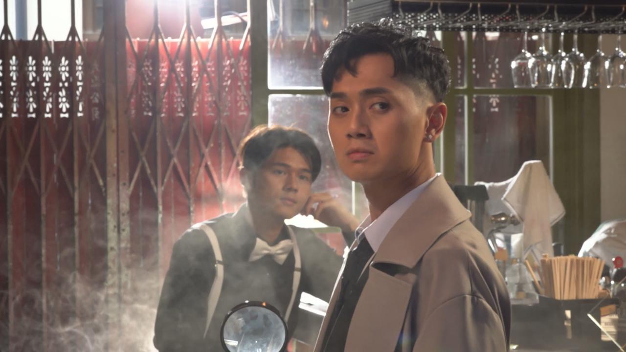 為木棘証人主題曲拍MV 鄭俊弘與後生仔玩到癲