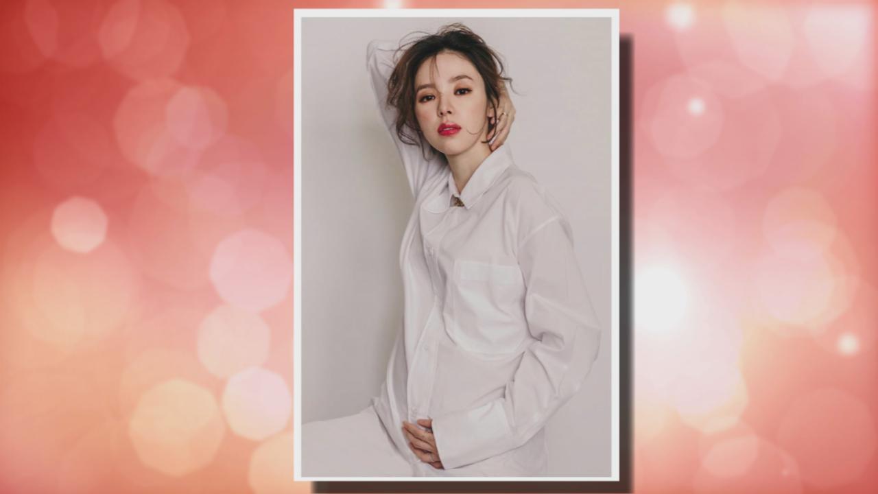 社交網站宣布剖腹產女 譚凱琪分享囡囡腳仔相