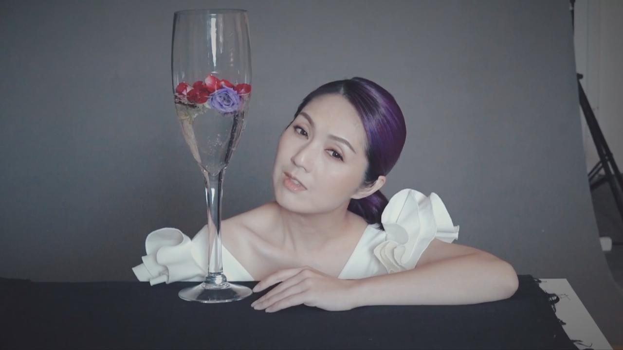落實舉行紅館跨年演唱會 楊千嬅為個唱拍攝海報