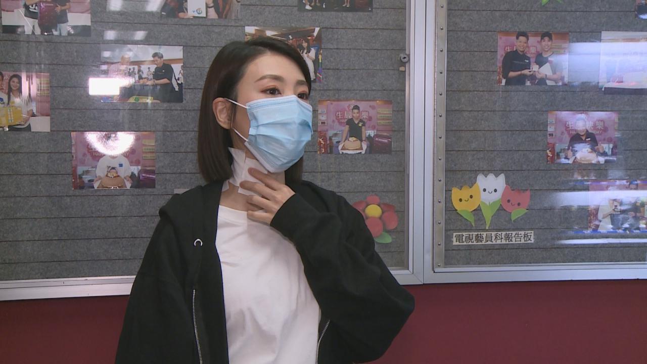 蔣家旻拍動作戲拉傷頸 欲看中醫針灸治療