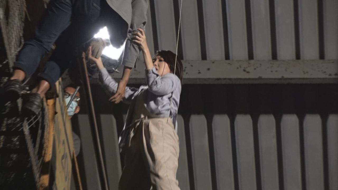蔣家旻拍吊威吔戲感緊張 劇透被譚俊彥角色連累