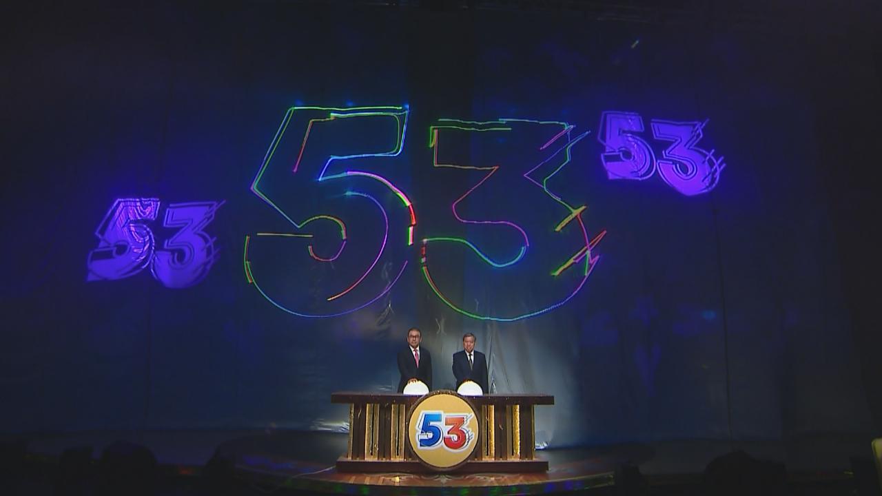 萬千星輝賀台慶隆重舉行 逾二百藝員為TVB慶祝53歲生日