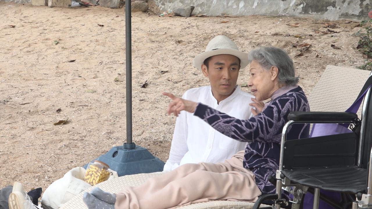 譚俊彥喜與羅蘭首次拍劇 振朗與前輩對戲特別投入