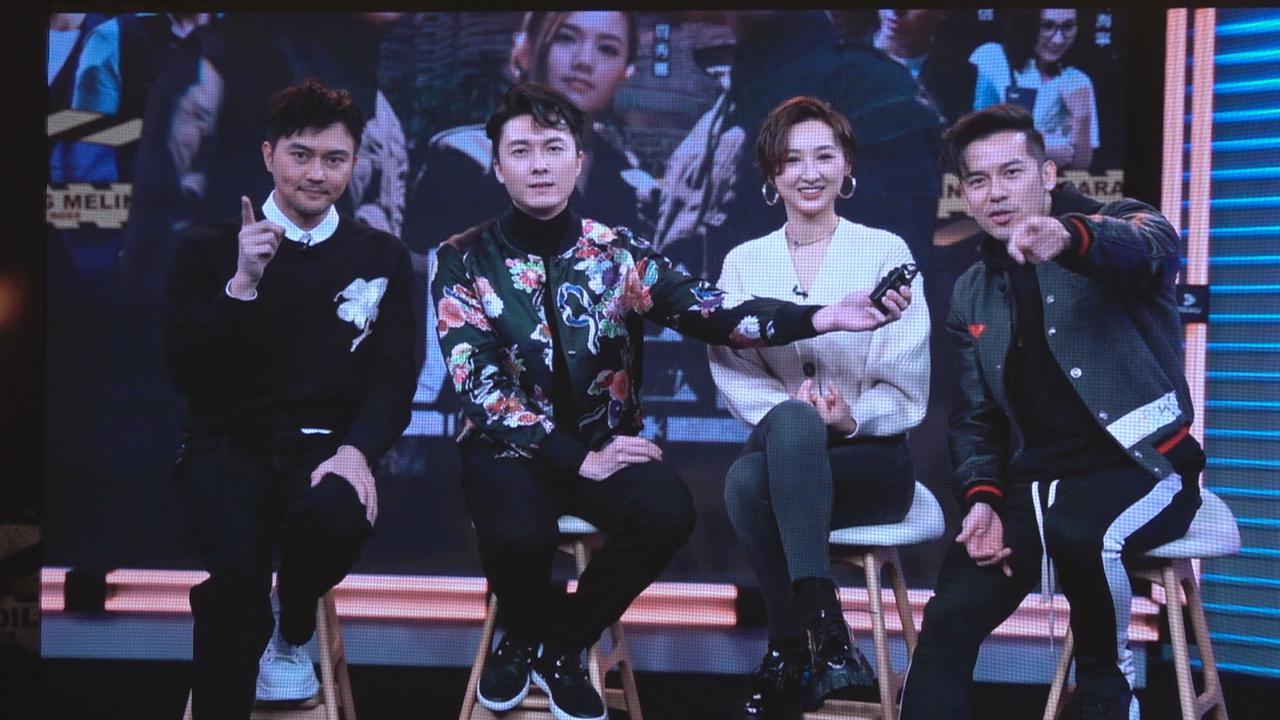 新劇非凡三俠舉行記招 北京宣傳四人組透過視像現身