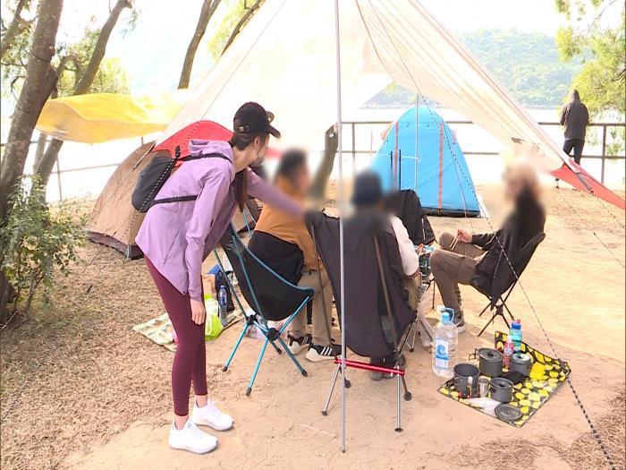 Campcation亂入禁區破壞生態 香港郊野大蹂躪