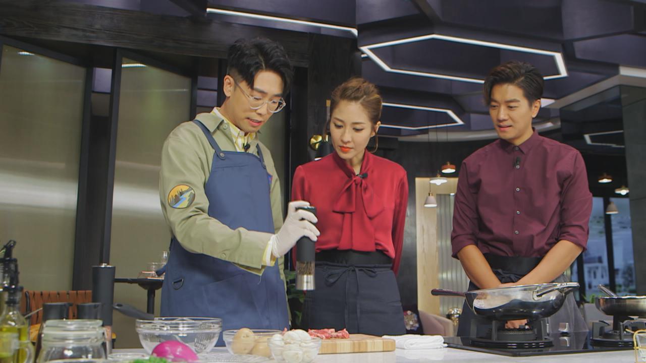 陸浩明上今晚請客展廚藝 黎諾懿讚6號具肥媽功架