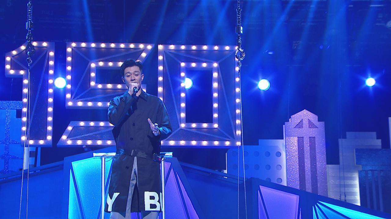 為東華表演高難度唱歌籌款 周柏豪胡鴻鈞空中演出超緊張