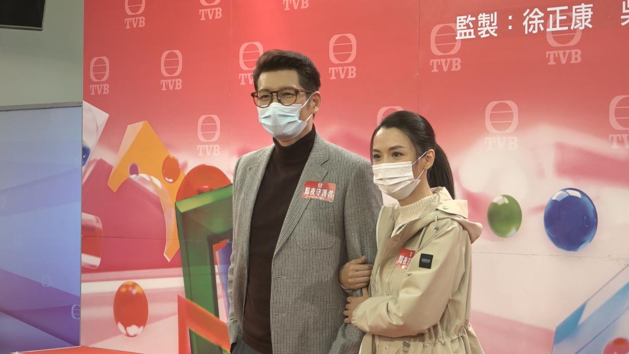 (國語)袁文傑陳煒再度演情侶 兩人笑言老拍檔默契佳