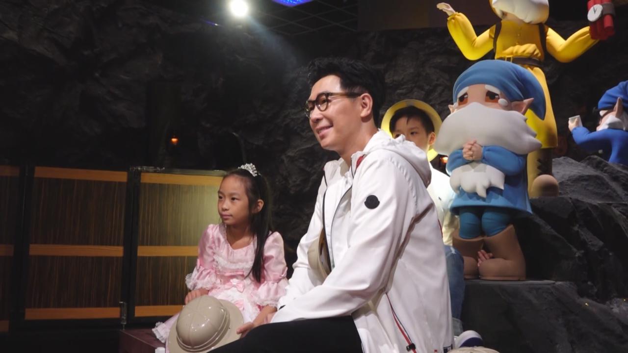 (國語)品冠短暫父兼母職照顧子女 為小朋友安排寒假活動