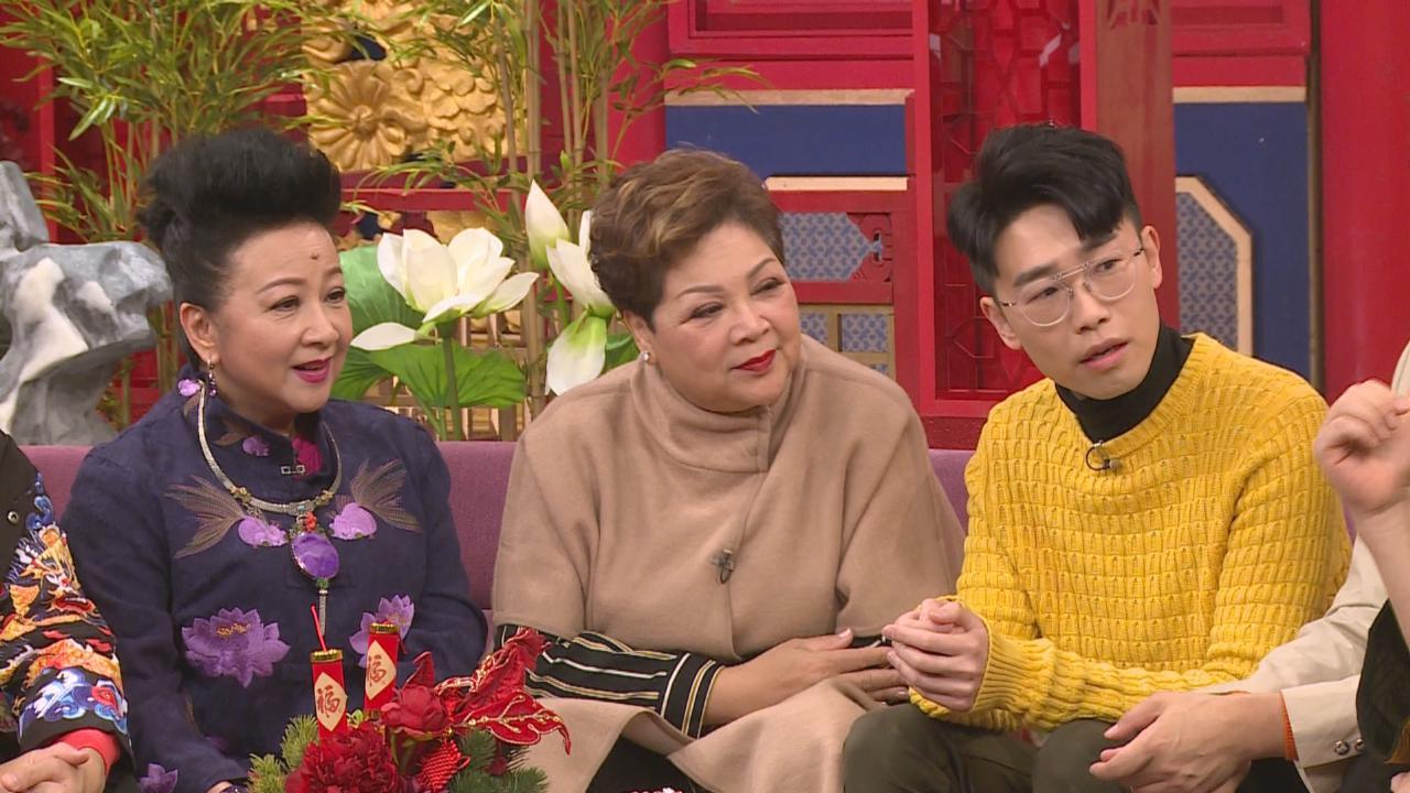 (國語)陸浩明關心牛年桃花運 肥媽已放棄追問乾兒子婚事